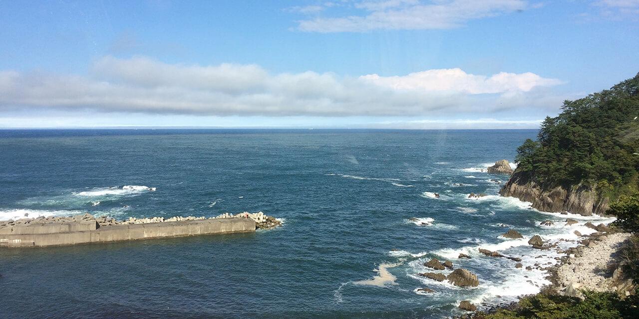 Trip to Sanriku, stay at a fisherman's